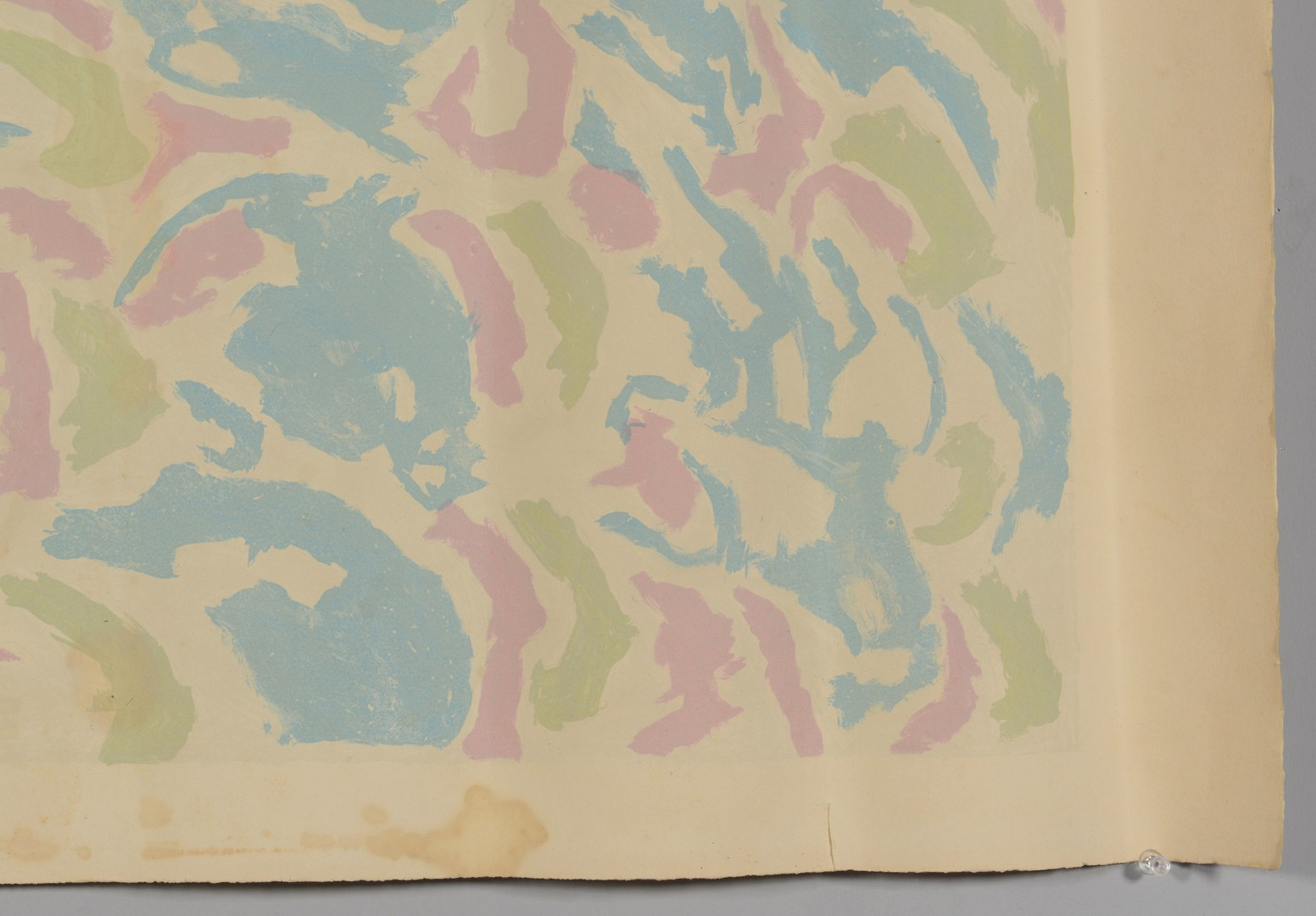 Lot 439: Beauford Delaney, Afrique Lithography