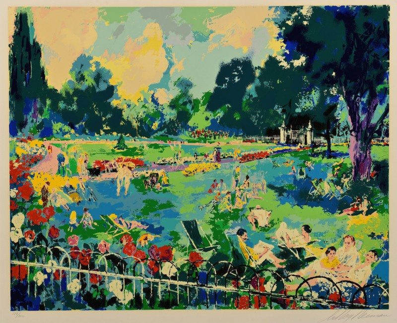 Lot 447: LeRoy Neiman Signed Serigraph, Regents Park