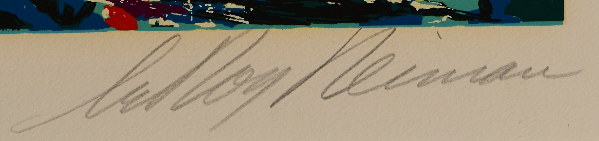 Lot 447: LeRoy Neiman Signed Serigraph, Regents Park