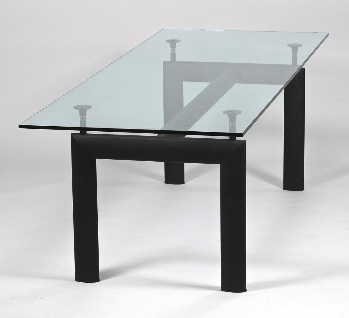 Lot 450: Le Corbusier LC6 Glass Dining Table