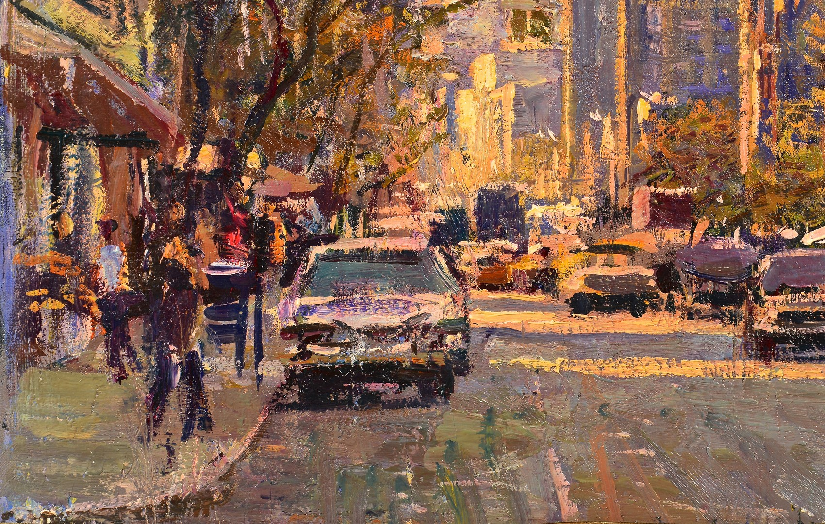 Lot 455: Grigory Stepanyants, NYC 6th Ave.