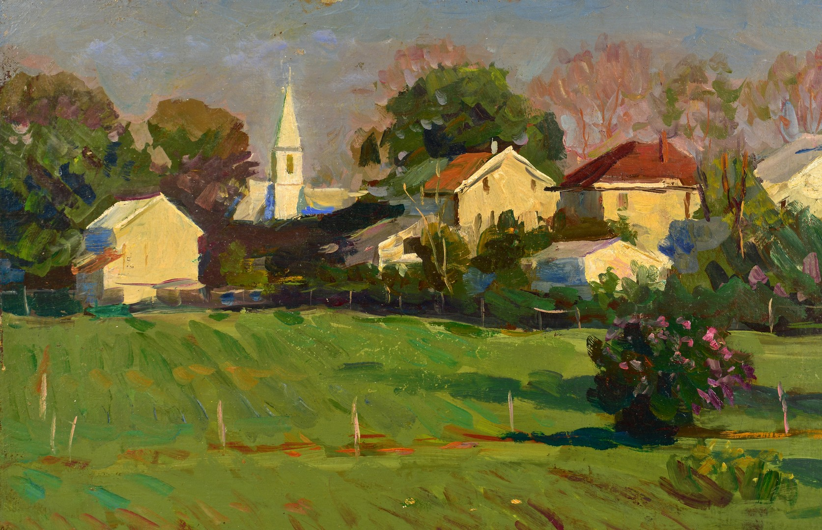 "Lot 456: Grigory Stepanyants o/c, ""Cornwall, PA"""