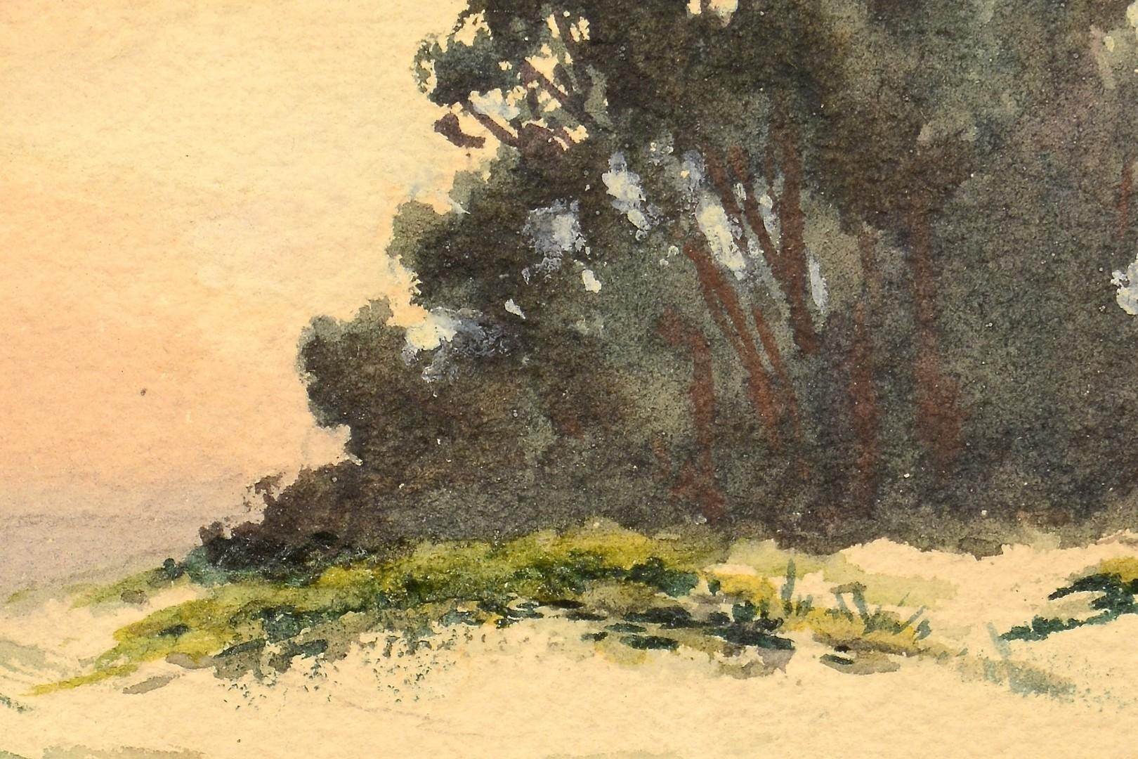 Lot 457: Mary DeNeale Morgan Watercolor