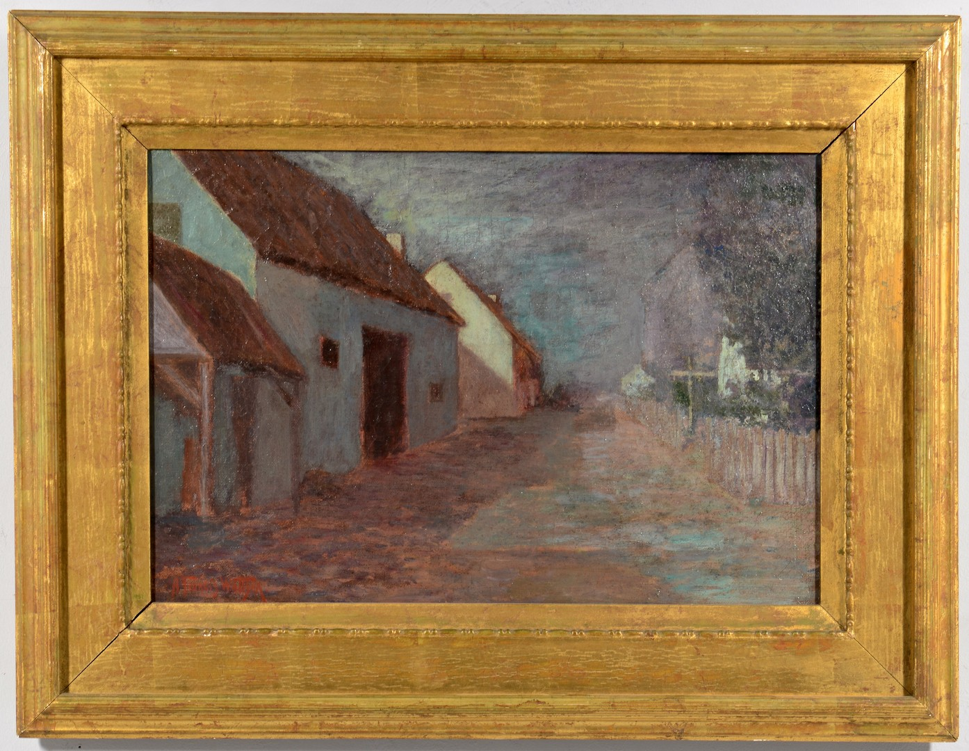 Lot 461: A. Francis Wattson Oil on canvas