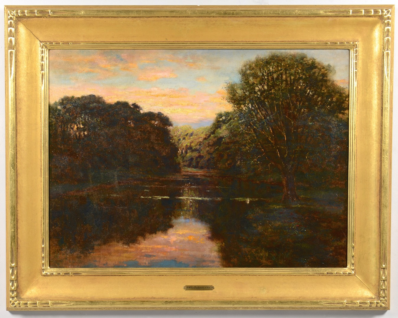Lot 462: R.W. Van Boskerck Riverscape