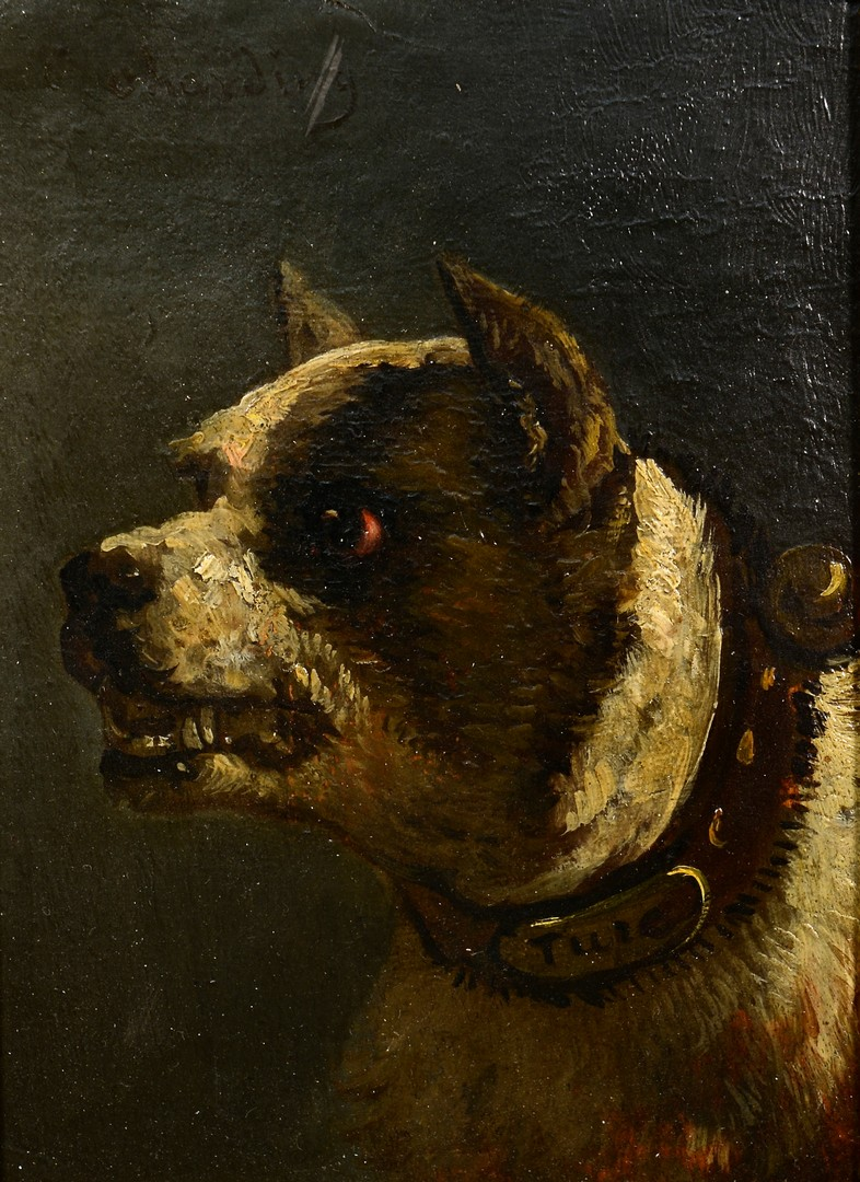 Lot 463: Dog Portrait