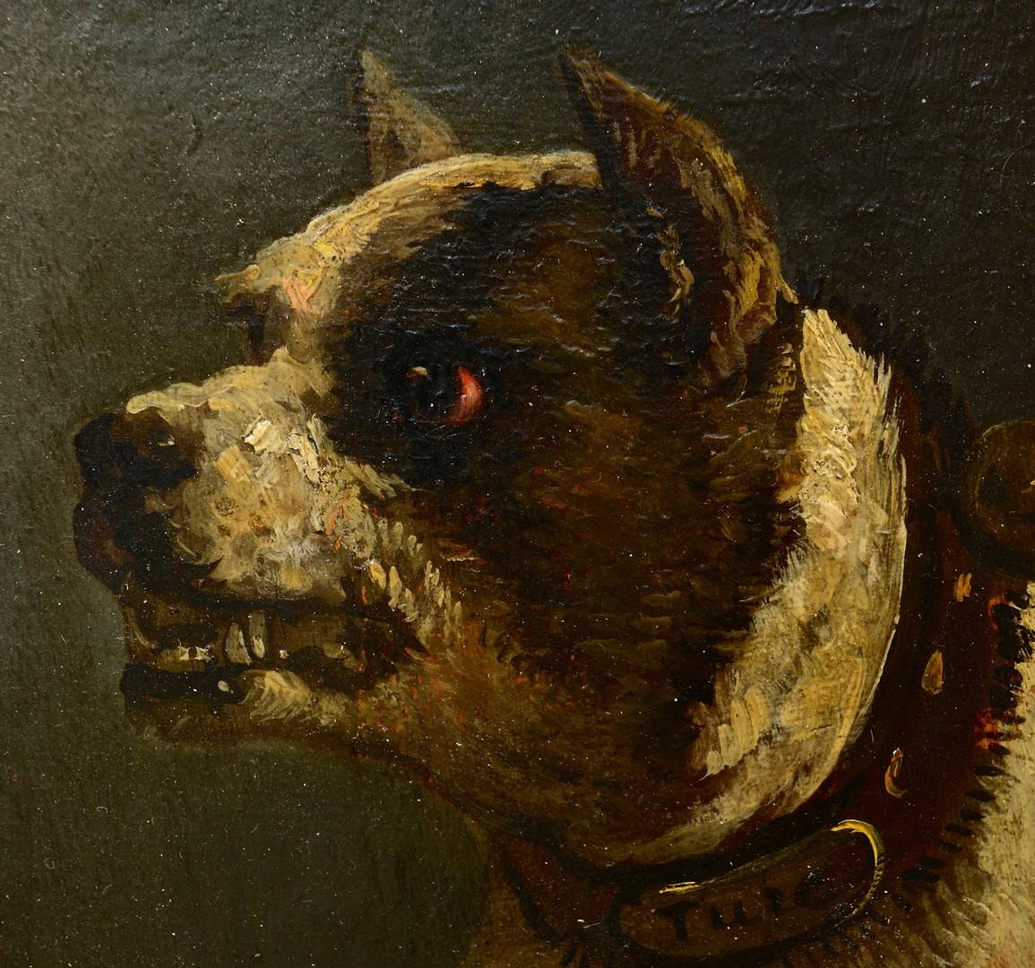 Lot 463: Dog Portrait