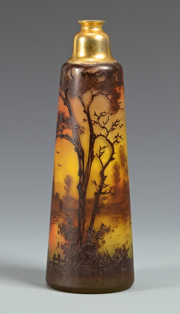 "Lot 466: Art Glass, Legras Cameo 19"", Peynaud"
