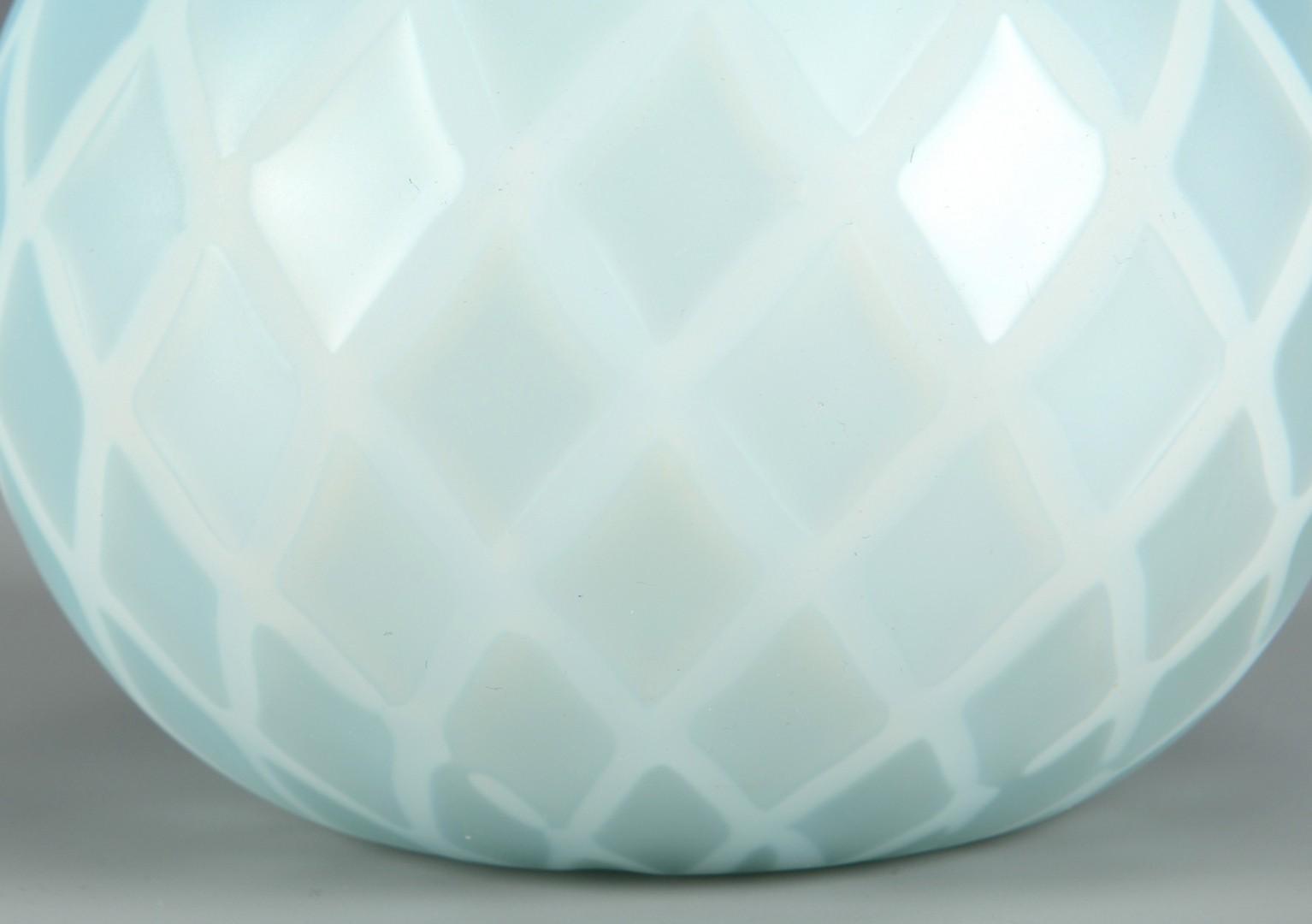 Lot 467: 4 pcs English Art Glass & 1 Worlds Fair