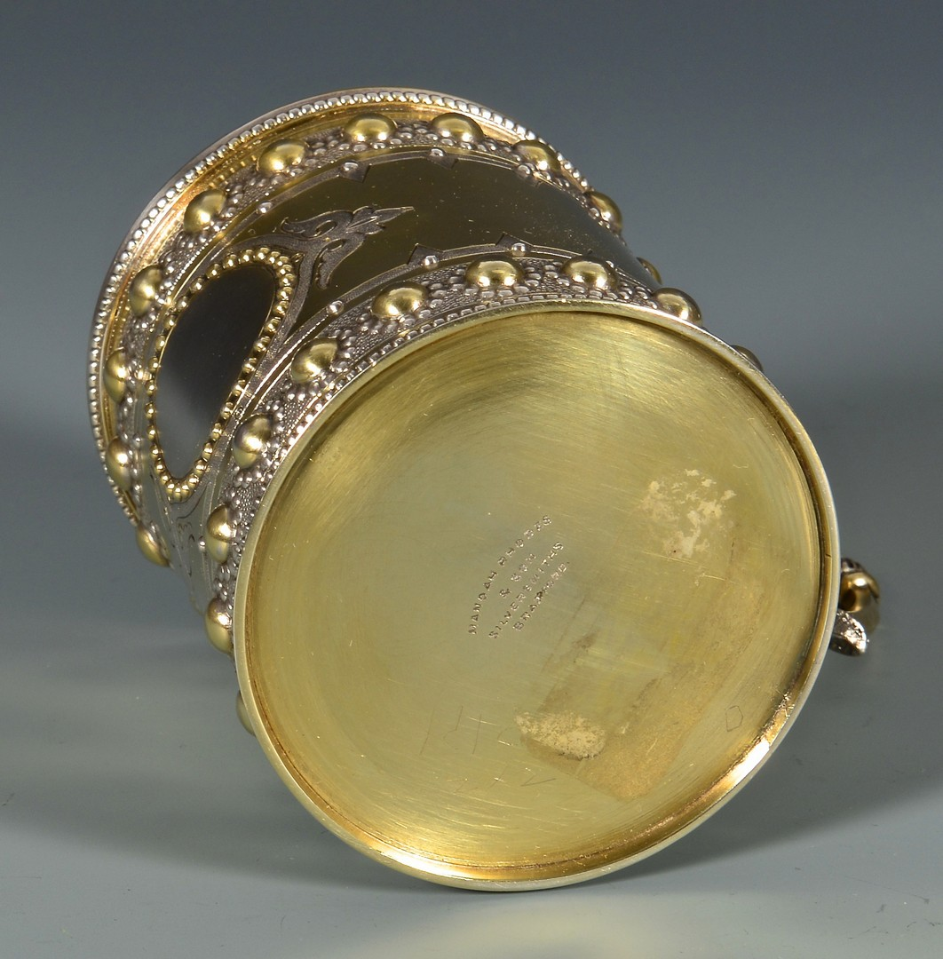 Lot 47: Gilt Silver Cup in Presentation Case
