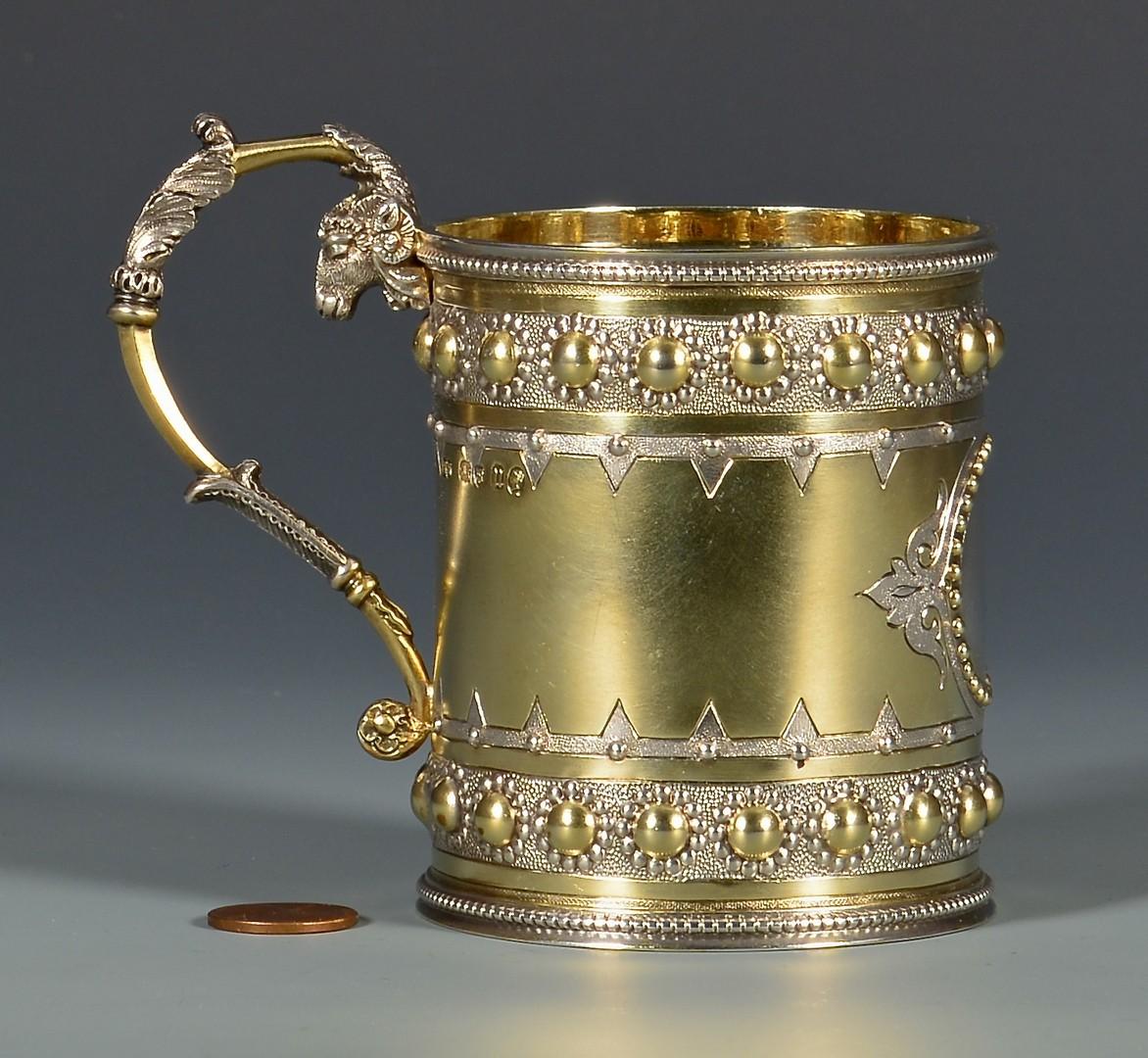 Lot 47: Gilt Silver Cup in Presentation Case