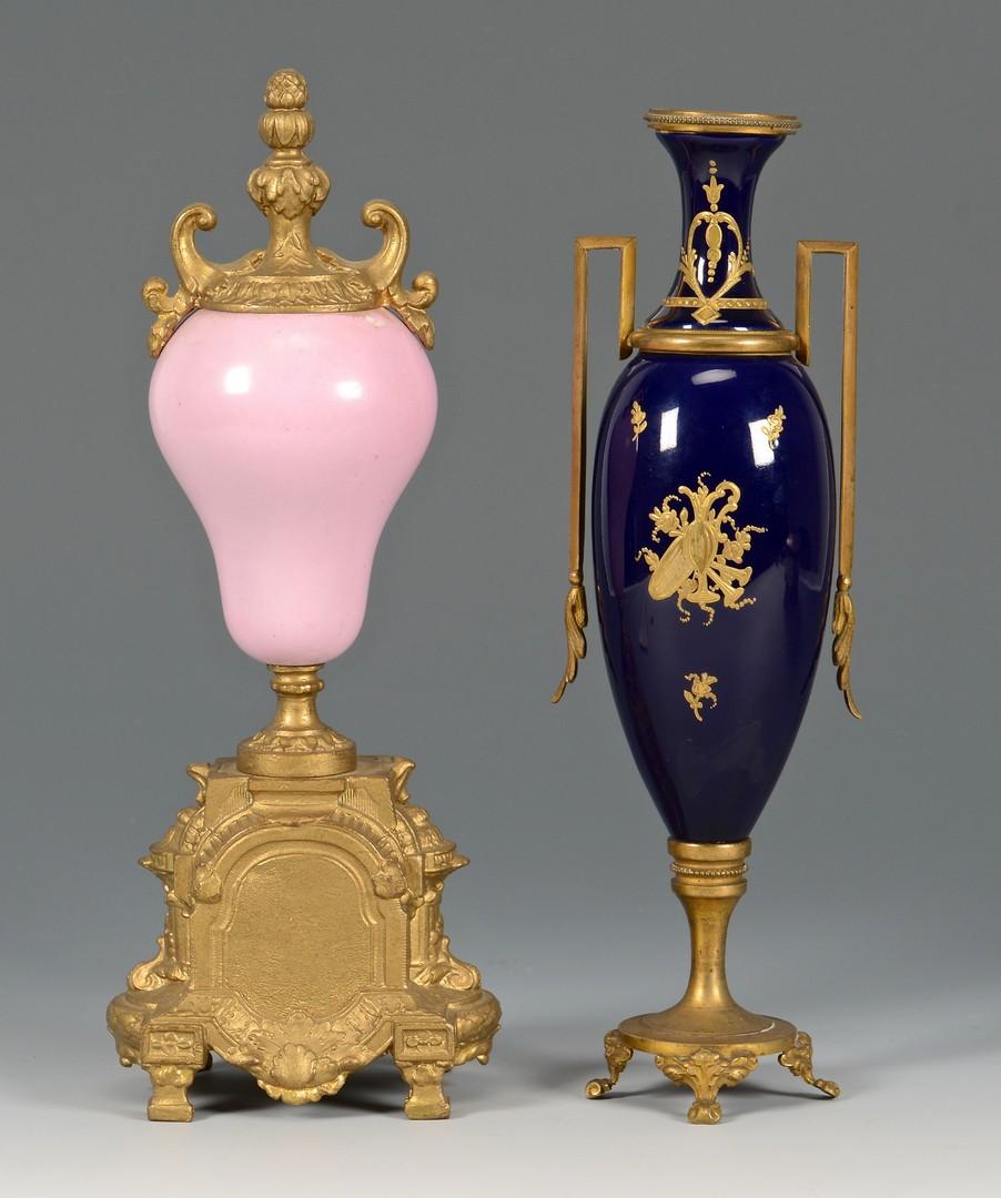 Lot 483: 3 Continental Painted Porcelains