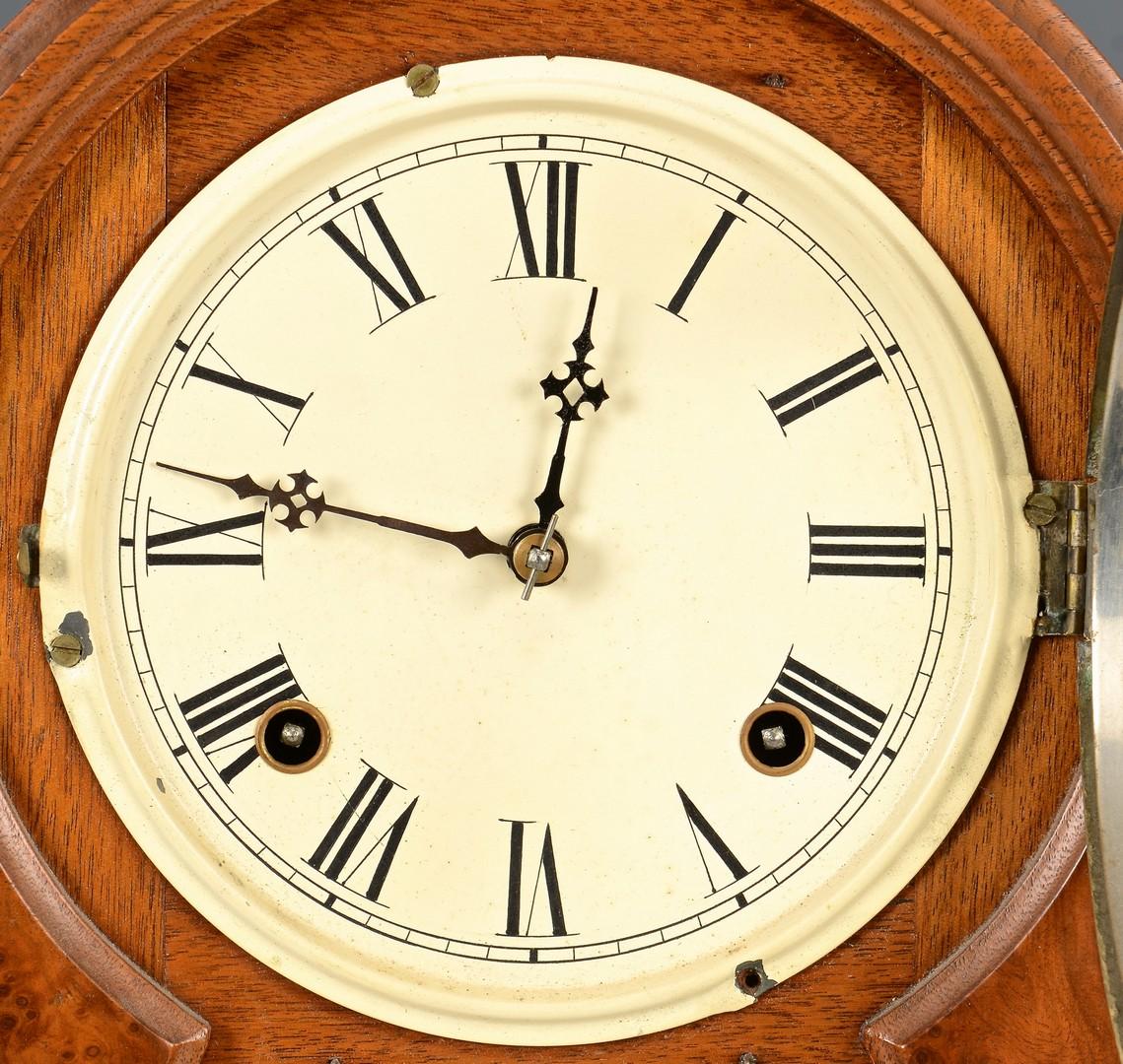 Lot 490: Ithaca Calendar Clock
