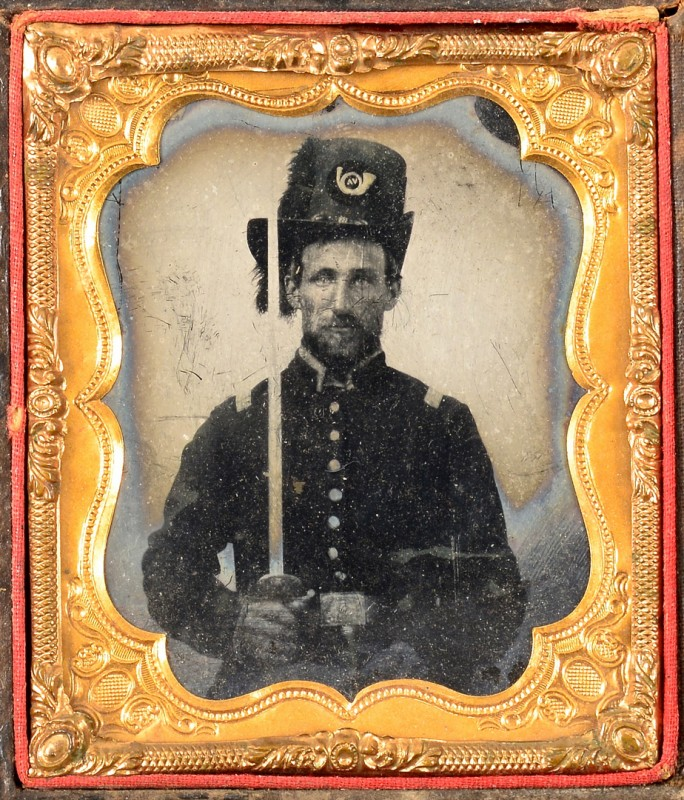 Lot 496: Confederate Civil War Ambrotype