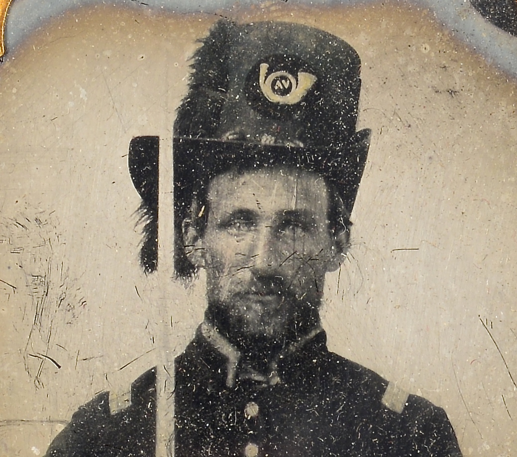 Lot 496: Confederate Civil War Ambrotype