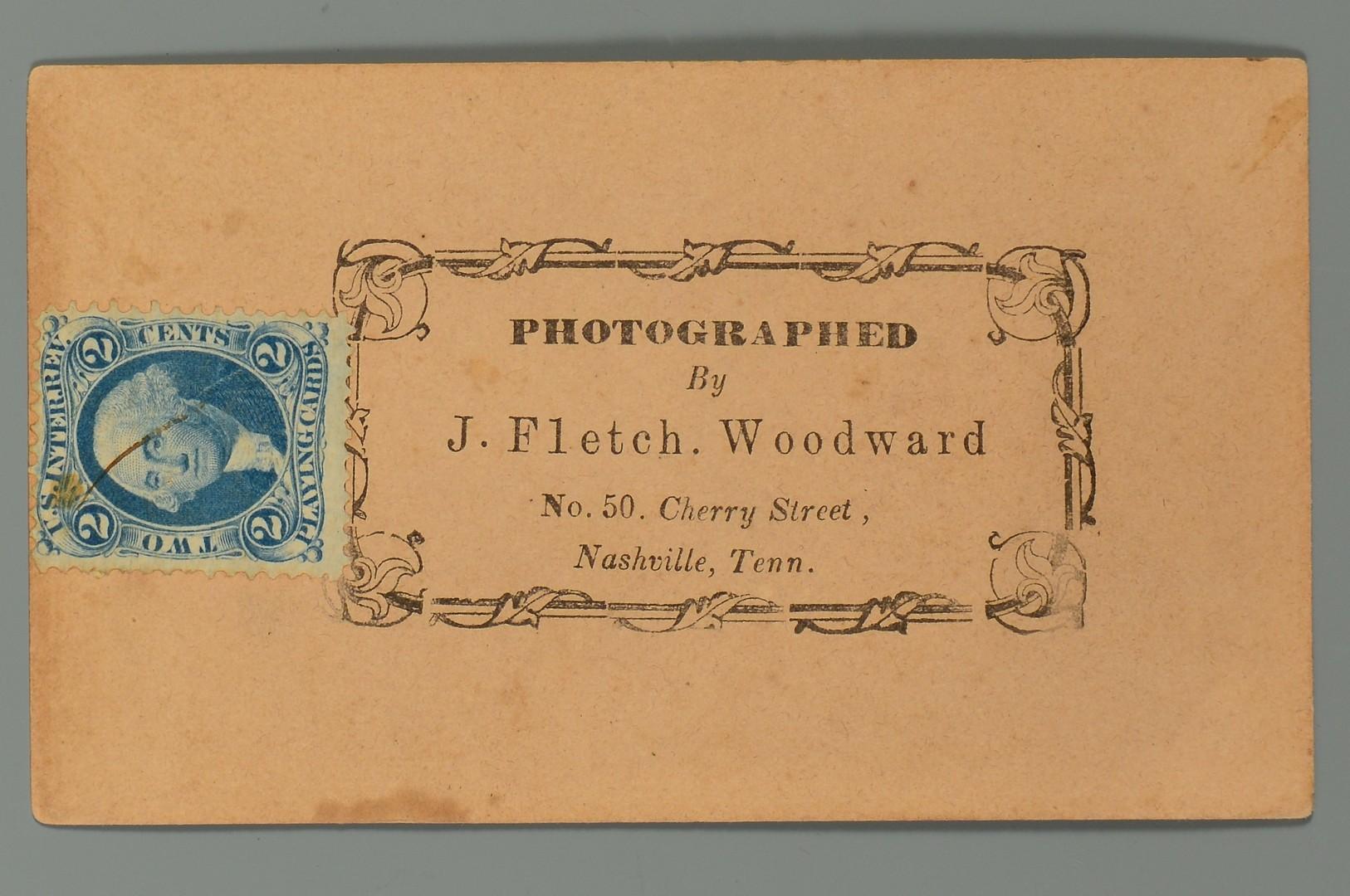 Lot 498: Two (2) Union Soldier CDVs, Johnson Co., TN