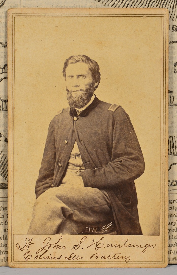 Lot 499: Knoxville CDV of Union Officer, Knoxville Union Mo