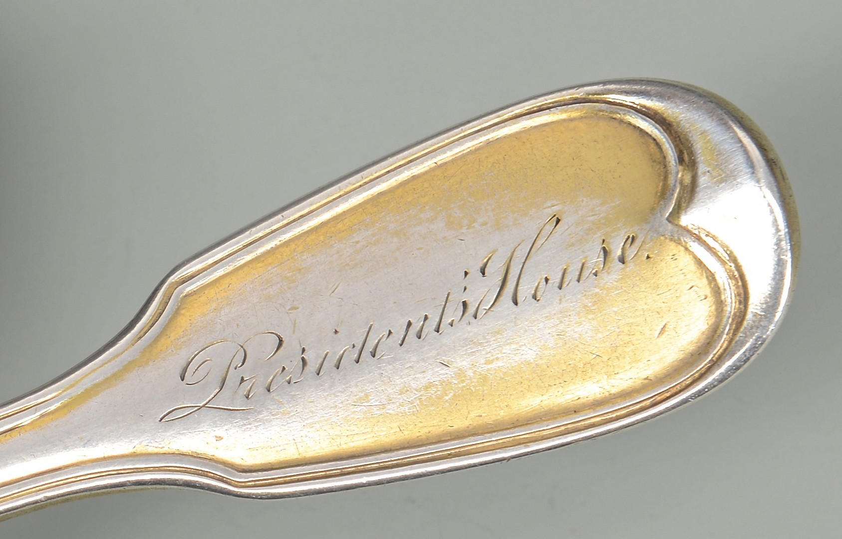 Lot 49: Andrew Jackson Presidential Silver Spoon