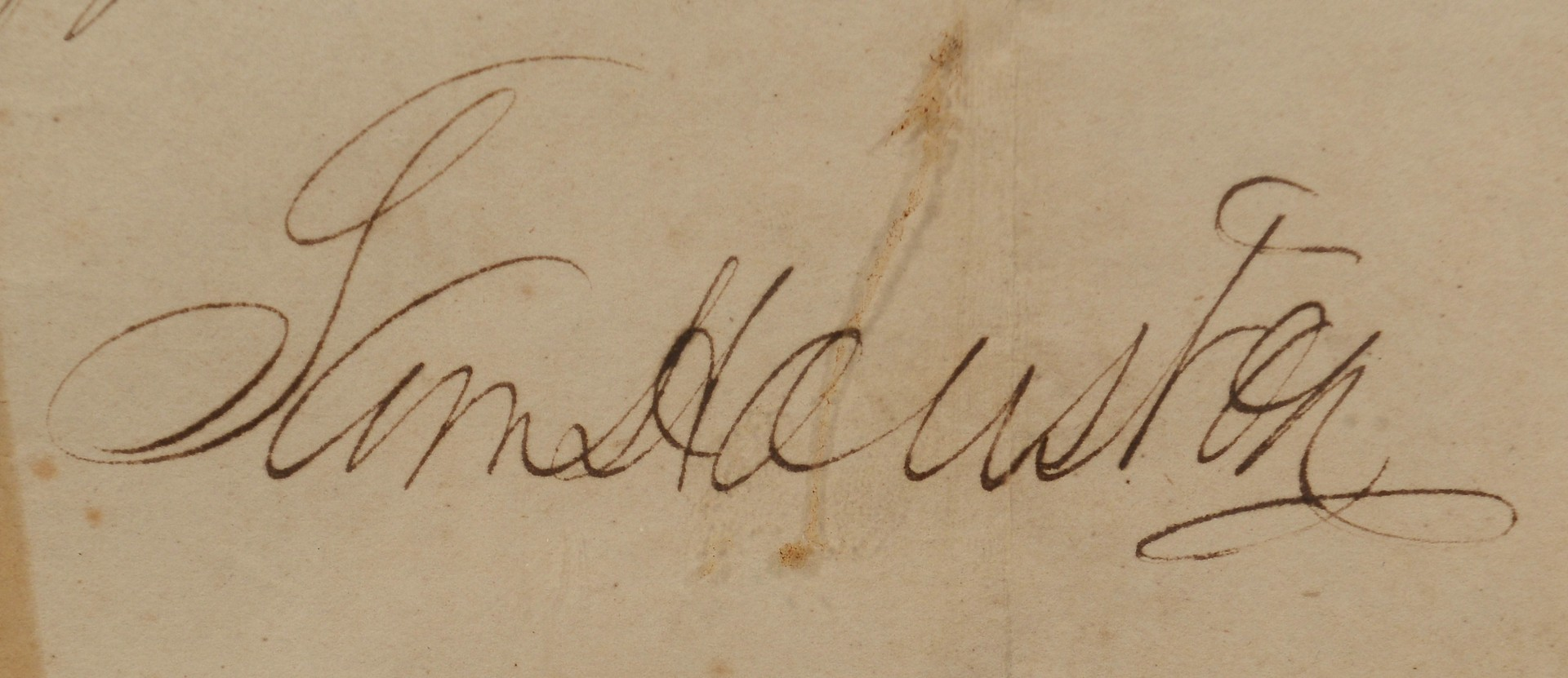 Lot 508: TN Land Grant Signed by Sam Houston