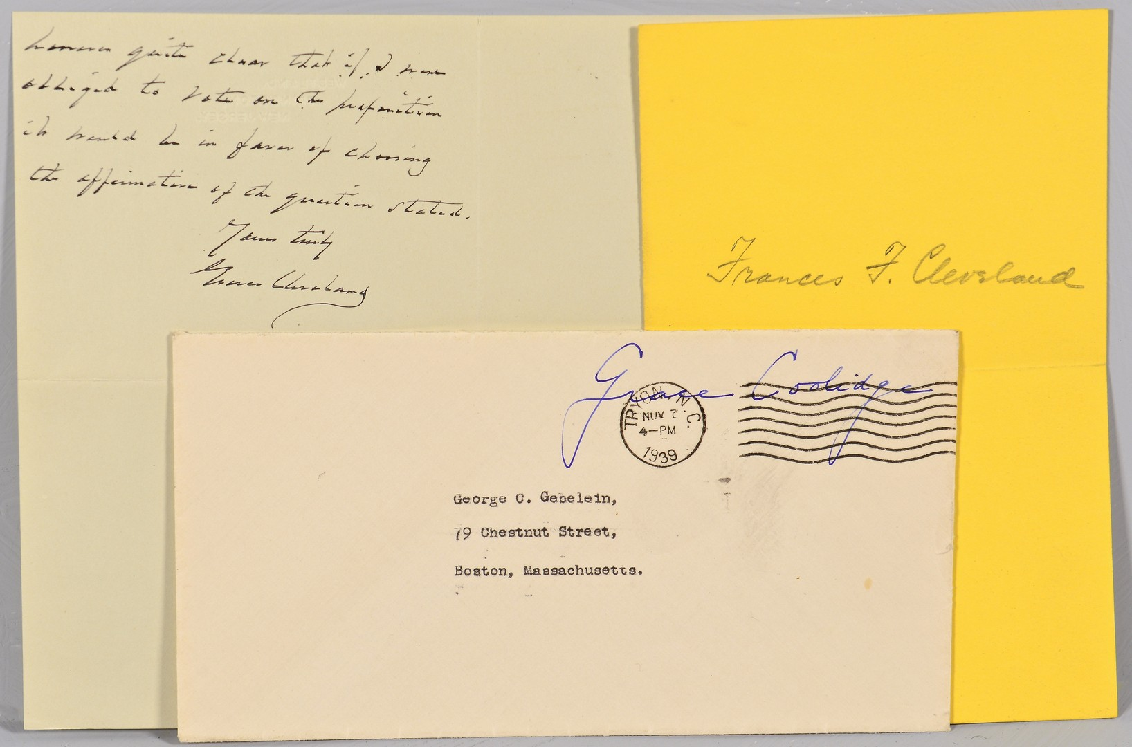 Lot 514: Group of Presidential Signatures