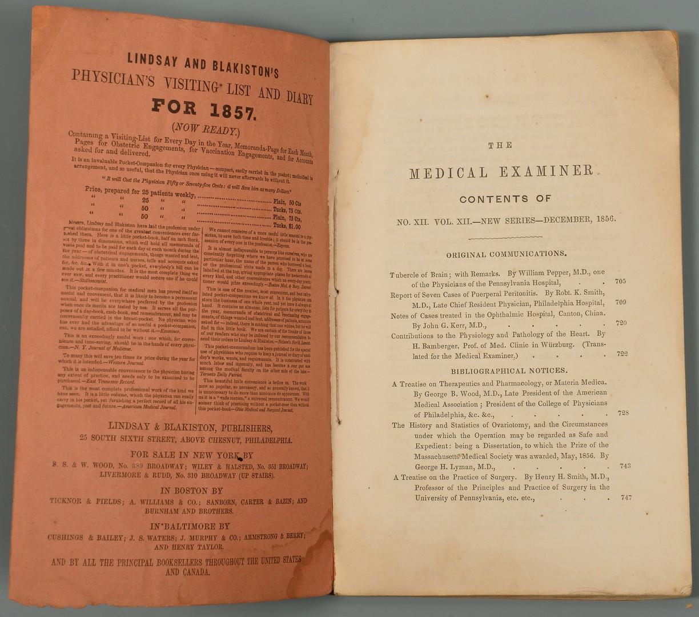 Lot 517: Univ. of Nashville Med School Archive