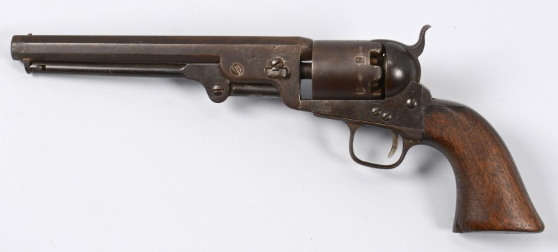 Lot 528: U.S. Colt Navy Model 1851, Hartford