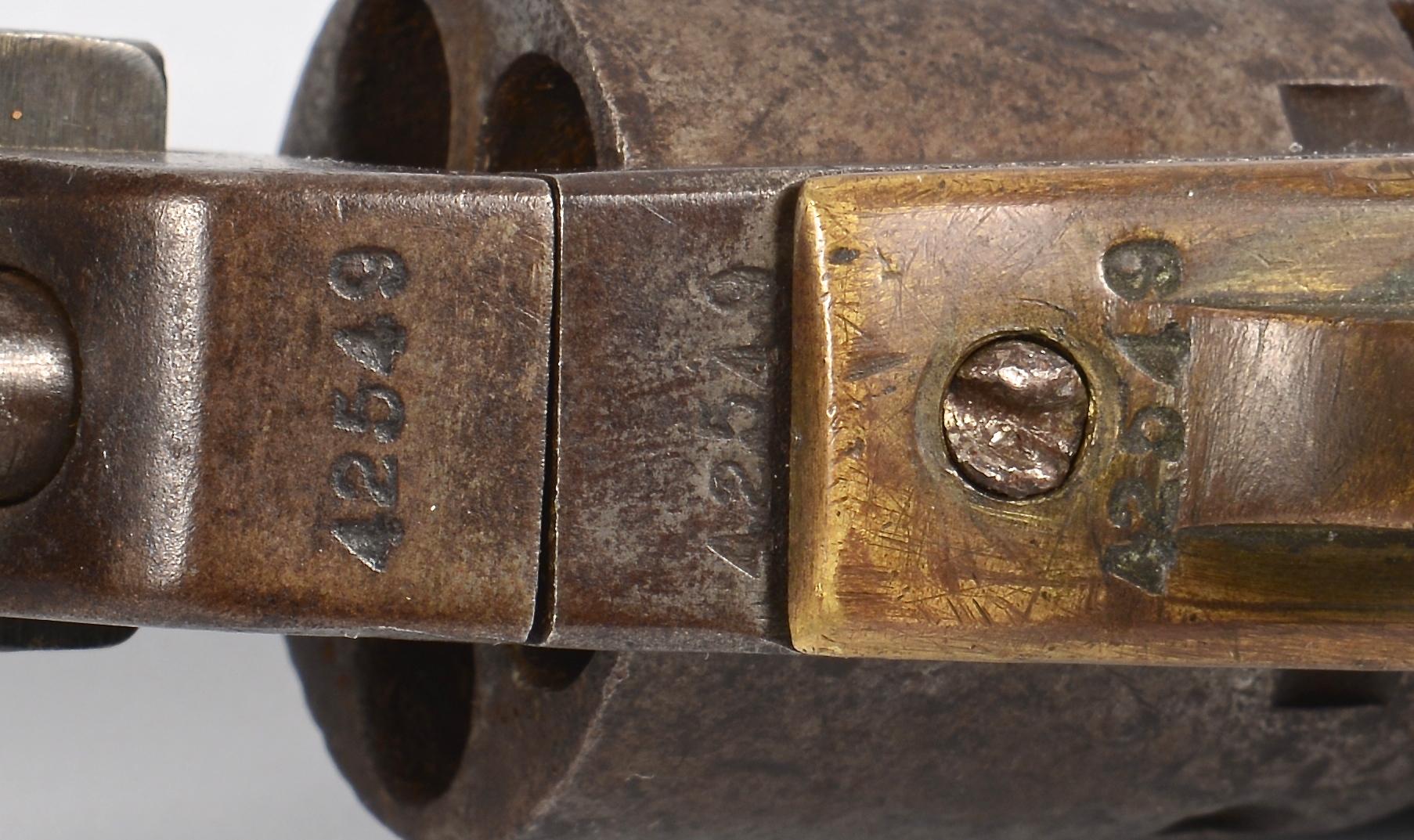 Lot 529: Manhattan Navy Revolver Series III, .36 Cal