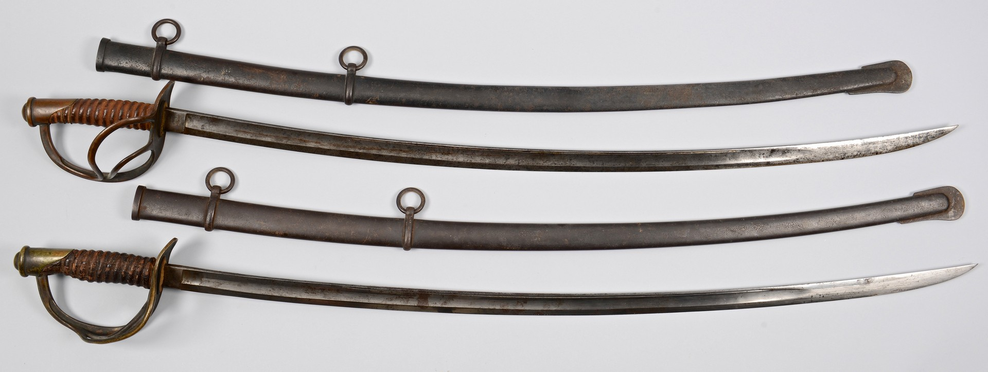Lot 530: Pair of Model 1860 Swords, Civil War