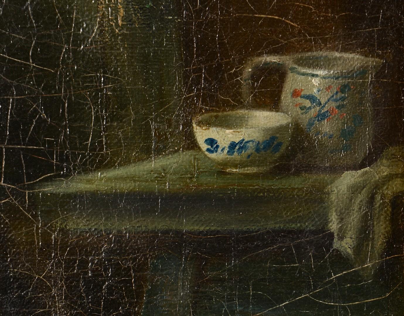 Lot 548: Jan Jac M. Damschroeder, interior scene
