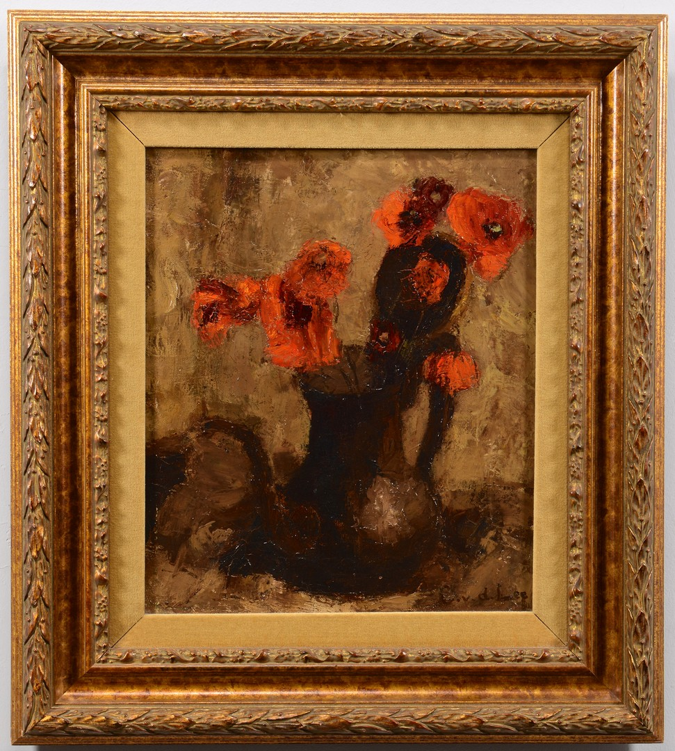 Lot 555: Dutch Oil on Canvas Still Life