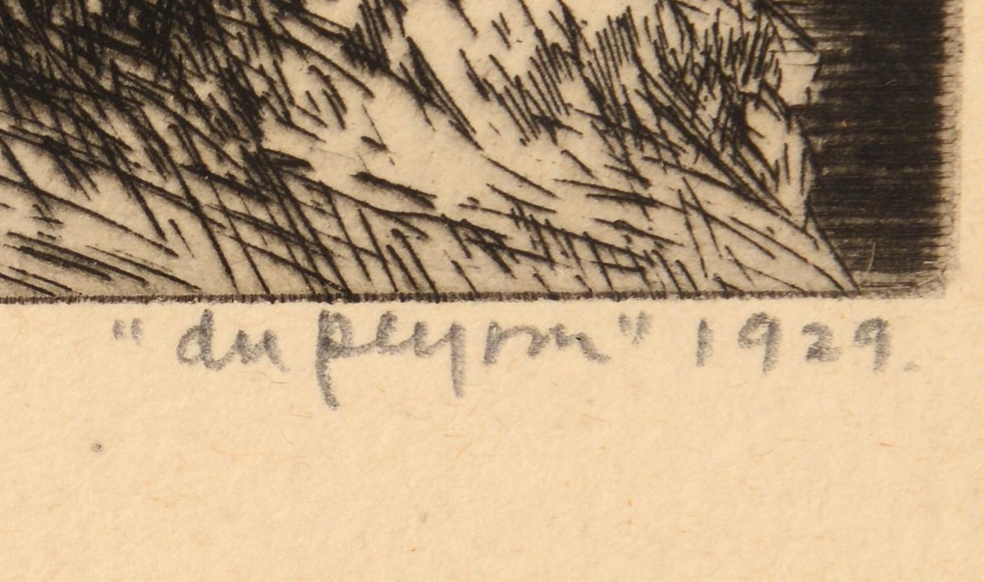 Lot 559: 8 F. A. Du Peyron Etchings