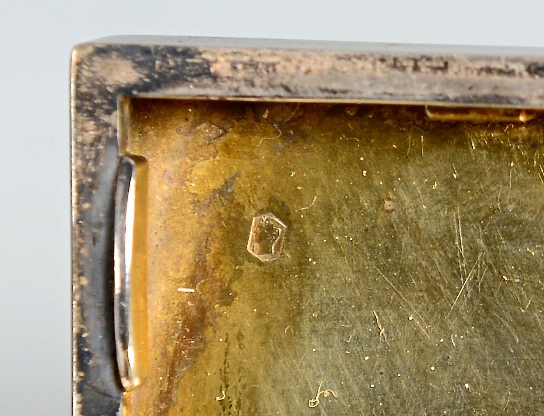 Lot 564: Silver Cigarette Box