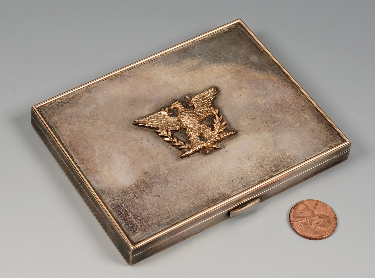 Lot 564: Silver Cigarette Box