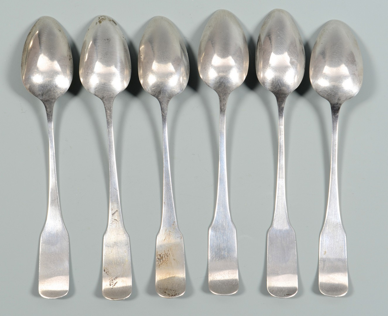 Lot 567: Grouping of 18 Coin Silver Spoons