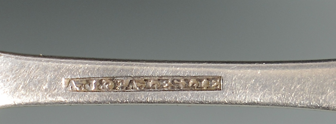 Lot 56: Alabama Silver Ladle and Spoon