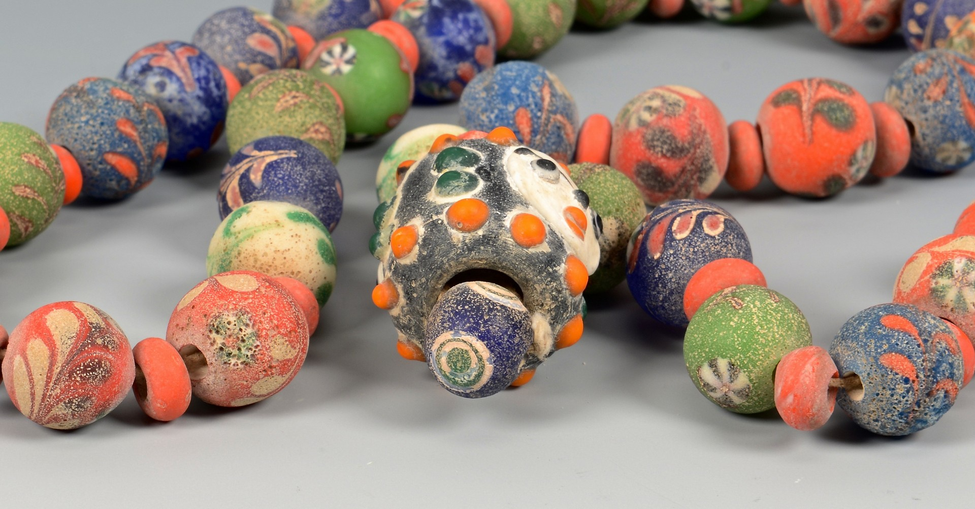 Lot 599: Ancient Middle Eastern Glass Beads