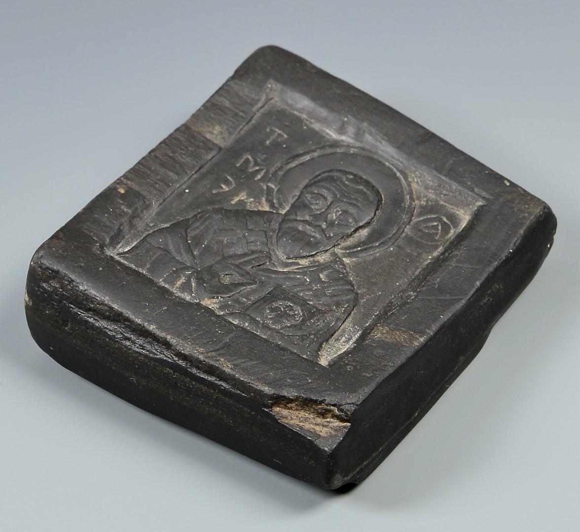 Lot 600: Graeco-Roman Intaglio & Greek Icon