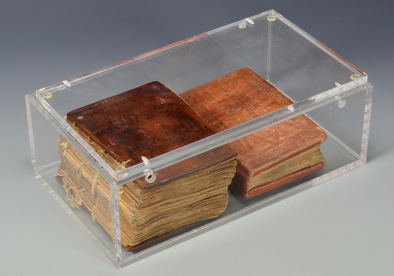 Lot 602: 2 Ethiopian Solomonic Period Prayer Books