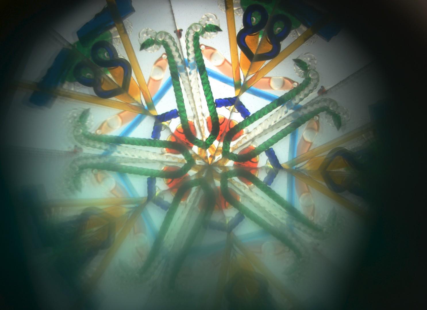Lot 610: Tabletop Parlor Kaleidoscope