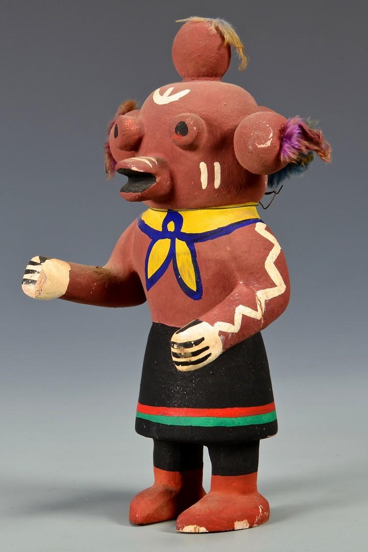 Lot 619: 2 Hopi Kachina Dolls