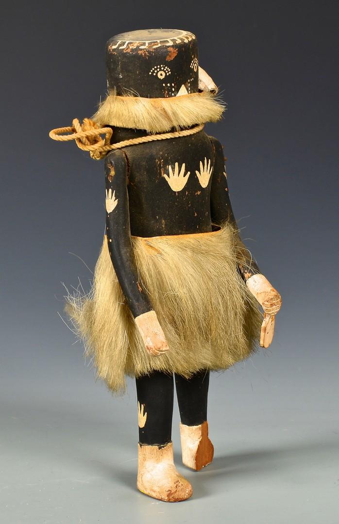 Lot 625: Early Zuni Kachina, Mastop