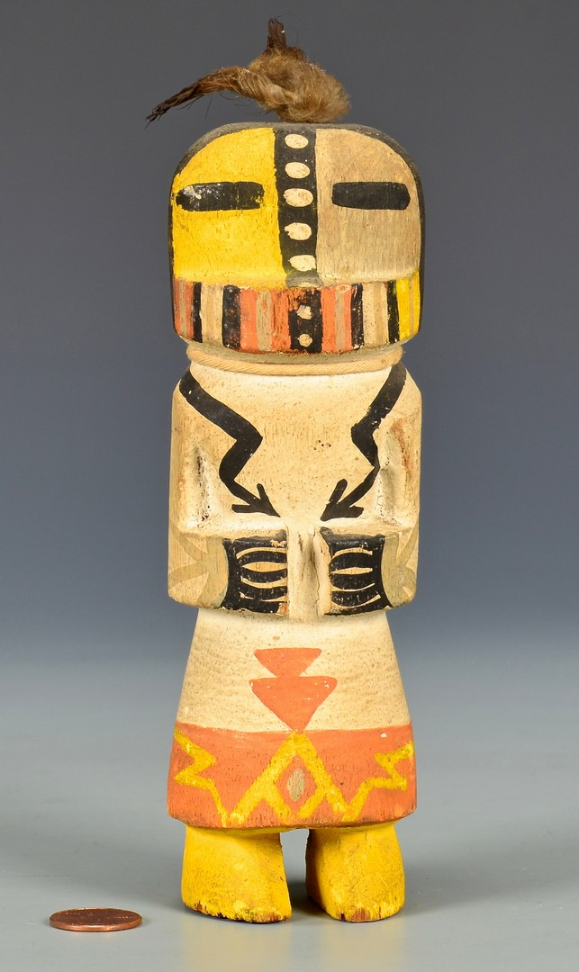 Lot 627: Two (2) Route 66 Kachinas, Circa 1920-30s
