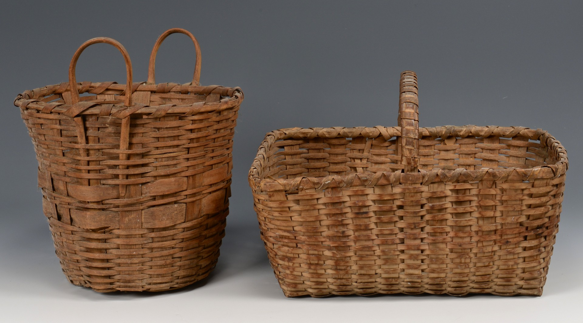 Lot 643: Group 10 Baskets, NE and Native Am