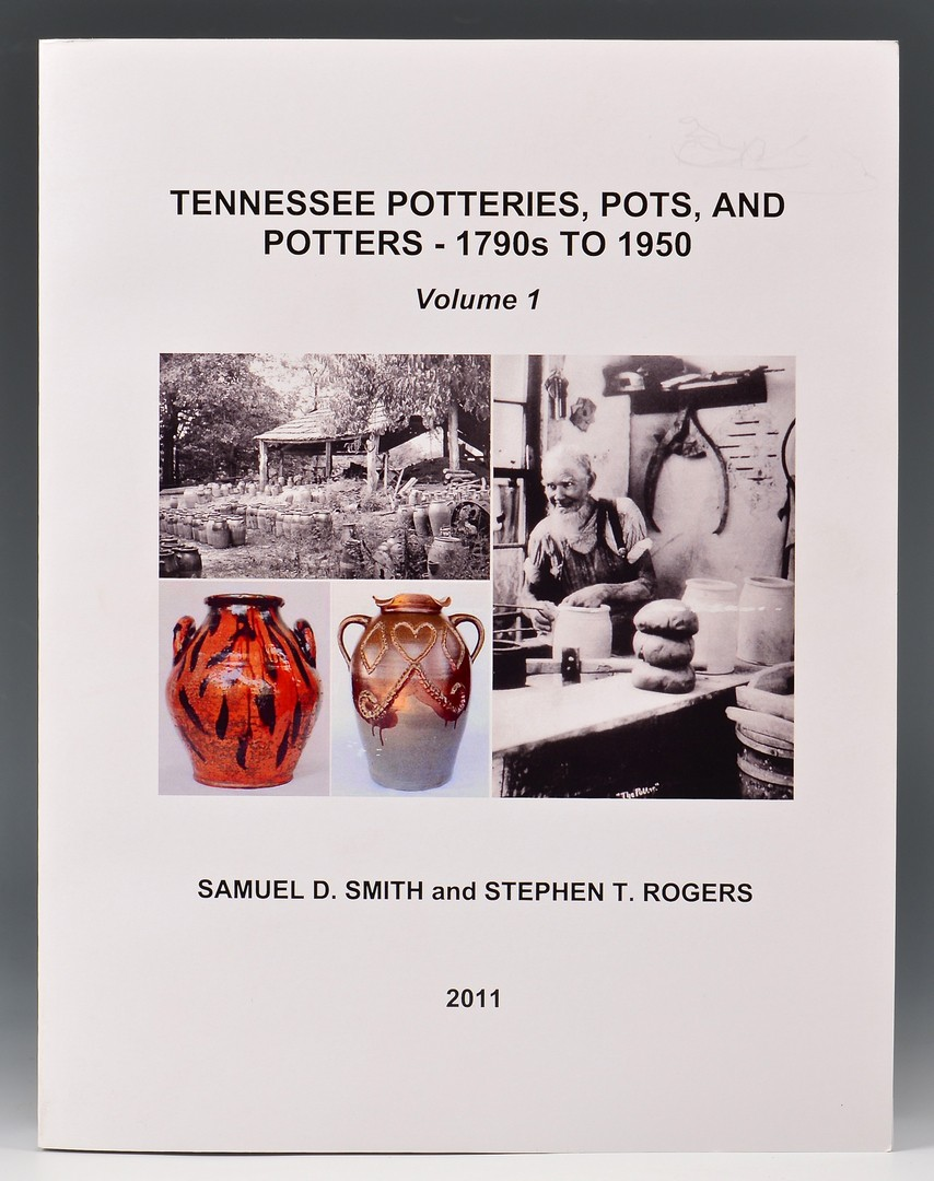 Lot 658: Tennessee Potteries, Pots and Potters, Vols. I & I