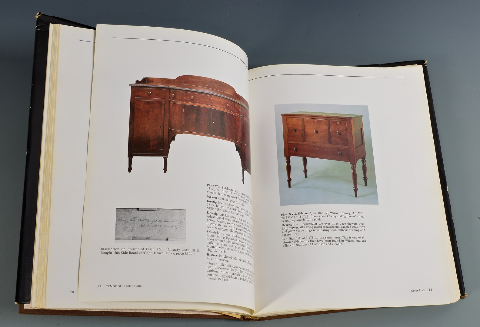 Lot 659: 4 TN Related Hardcover Antiques Books