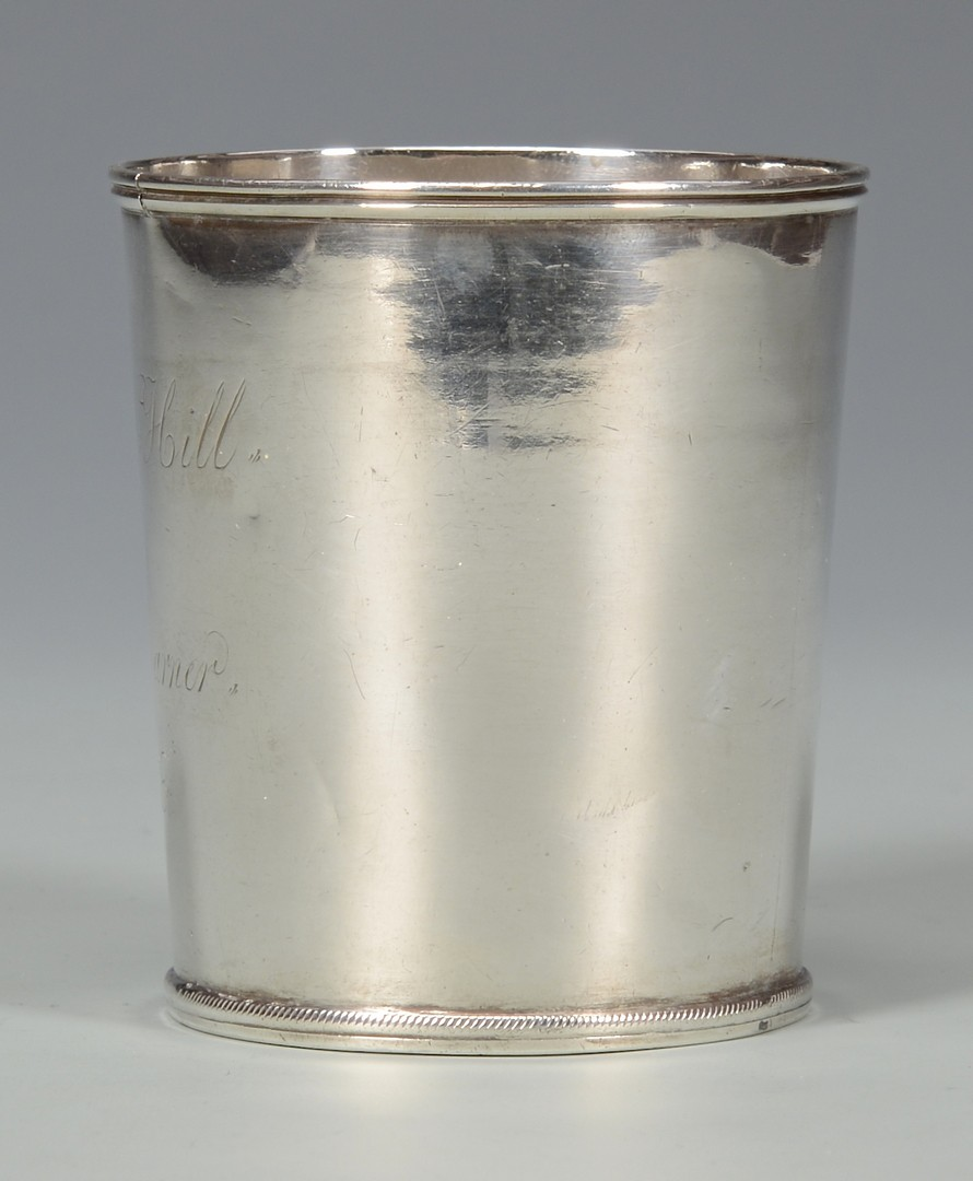 Lot 65: A. Rasch Coin Silver Cup, Steamboat history
