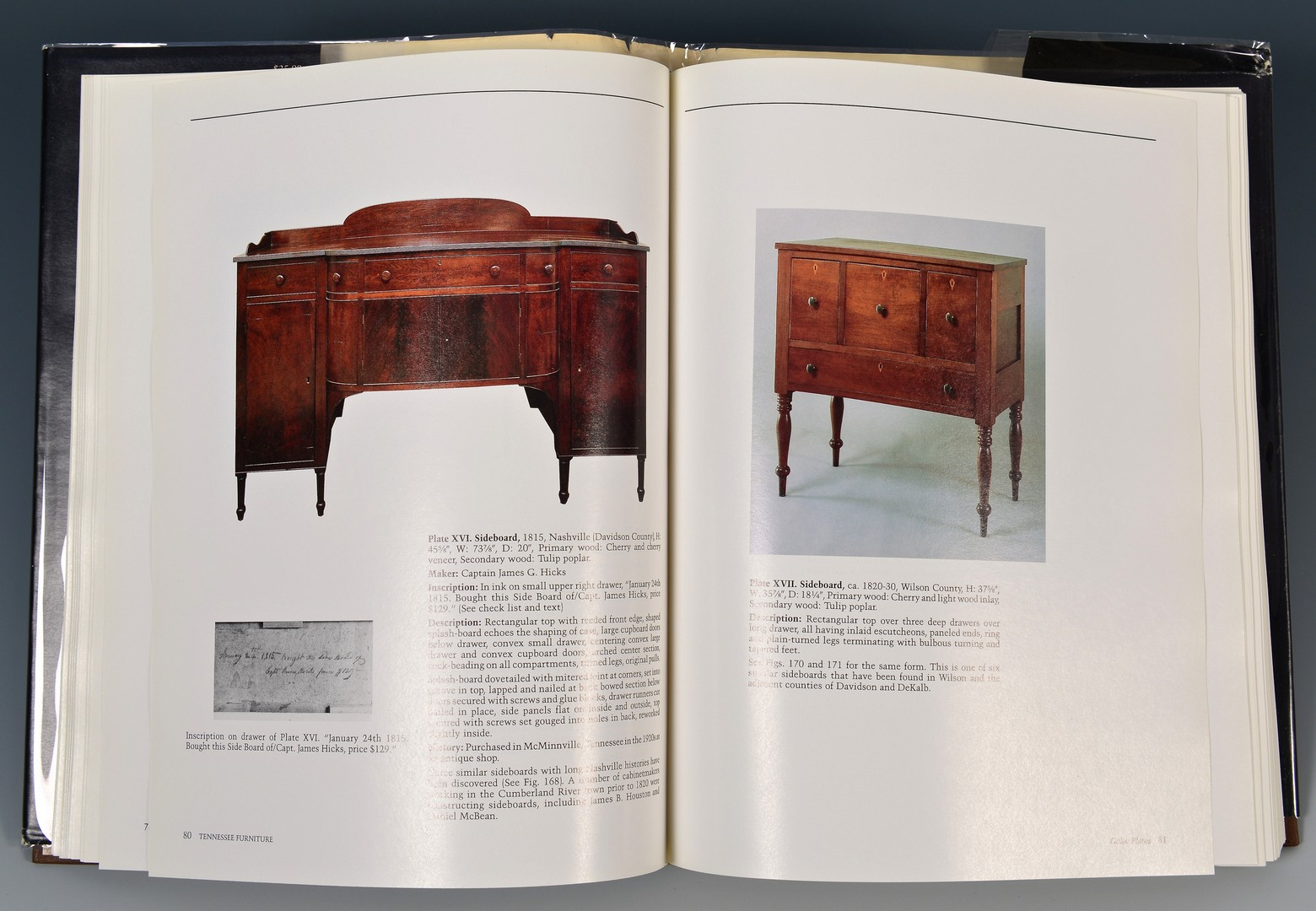 Lot 660: Book: The Art and Mystery of TN Furniture