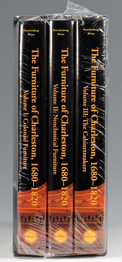 Lot 661: The Furniture of Charleston, 1680-1820, 3 Volumes