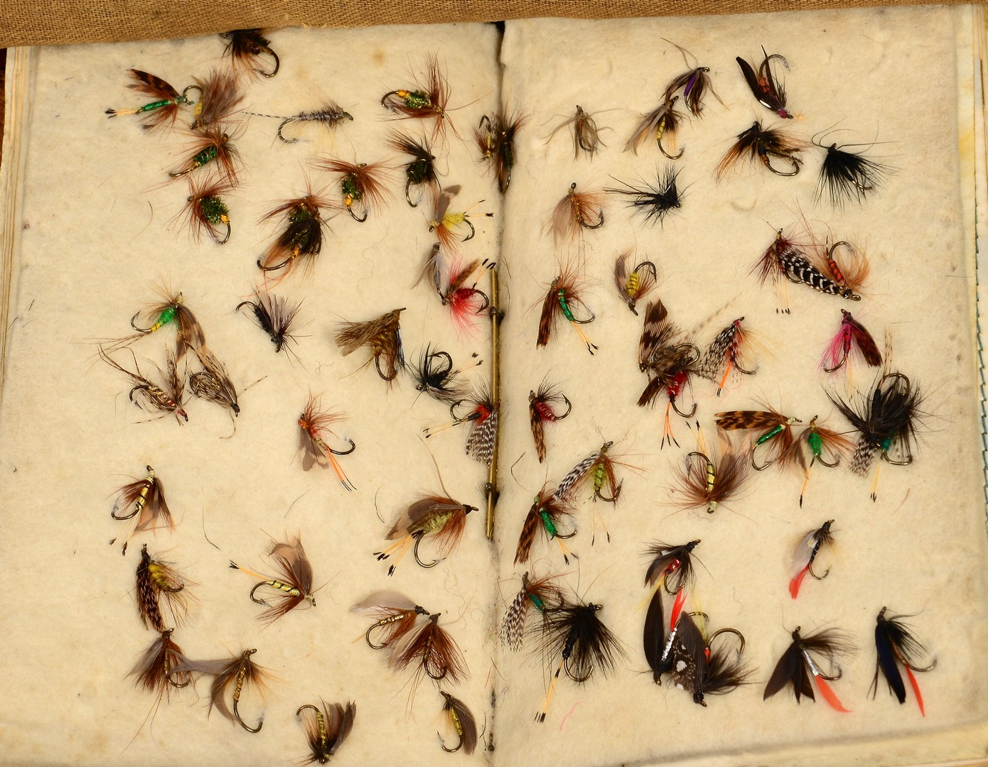 Lot 666: Grouping of Vintage Fly Fishing Items