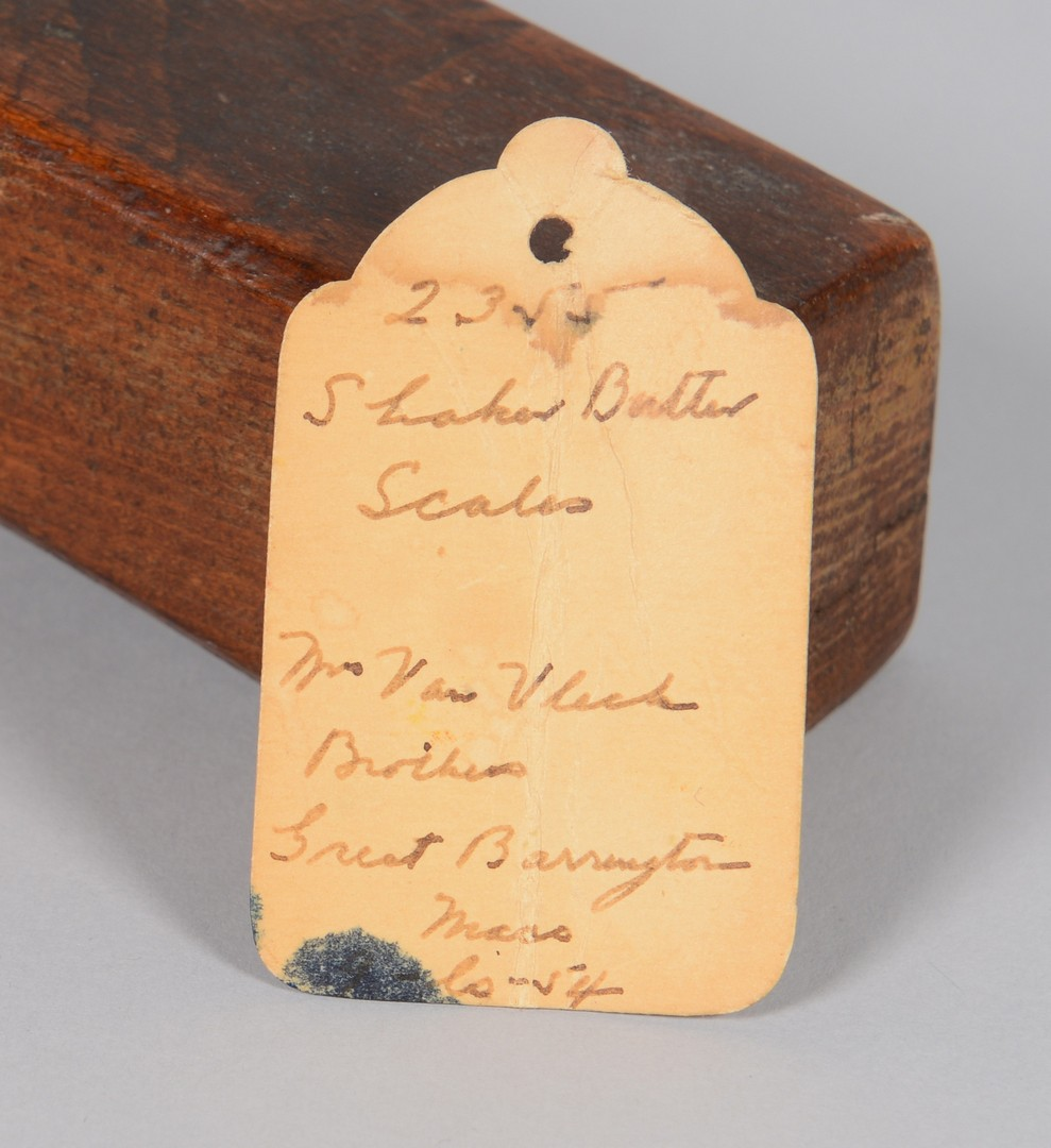 Lot 670: Shaker Butter Scale